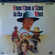 ONCE UPON A TIME IN THE WEST -SERGIO LEONE -WIDESCREEN EDITION - (2)  LASER DISC