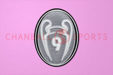 UEFA Champions League 9 Times Trophy (light grey) 2012-2013 Soccer Patch / Badge