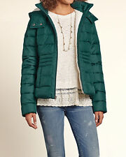 NWT Hollister by Abercrombie & Fitch Sherpa Lined Puffer Jacket - XS