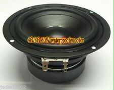 "1pcs 4.5"" inch 4Ω/8Ω 30W Waterproof 86dB Bass speaker Outdoor Sound"