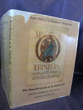 ILLUMINATED MANUSCRIPT Faber Library Benedictional ILLUSTRATED Medieval  HC/DJ