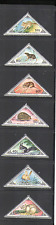 Mongolia 1983 Rodents/Small Mammals/Triangles 7v n15604