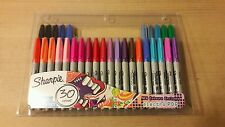 SHARPIE Fine Point PERMANENT ART CRAFT MARKER PENS 30 Pack ASSORTED COLOUR New