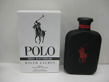 POLO RED EXTREME by RALPH LAUREN 4.2 oz 125 ml  PARFUM SPRAY TSTR NEW