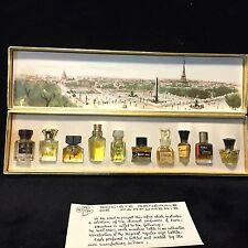 Les Meilleurs Parfums De Paris Mini Perfume Gift Set - 10 IN SET -9  ALMOST FULL