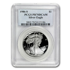 1986-S Proof Silver American Eagle PR-70 PCGS (Registry Set)