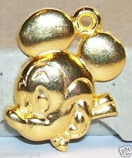 CHARM DISNEY MICKEY MOUSE  FEVE PENDENTIF METAL DORE 2D
