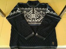 Dale of Norway Large new wool sweater zip US ski team Dale classic nice!