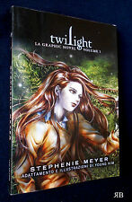STEPHENIE MEYER - TWILIGHT la GRAPHIC NOVEL 1 - FAZI 2010 - 9788864111209