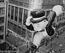 1990s Macy's Thanksgiving Parade Monopoly Man Balloon 8 x 10 Photograph