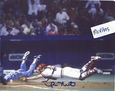 Tom Nieto 1985 St Louis Cardinals Autographed Signed 8x10 Photo COA #2