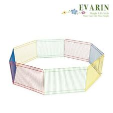 Pet Play Pen Folding Puppy Hedgehog Playpen Fence Kennel Crate Exercise Portable
