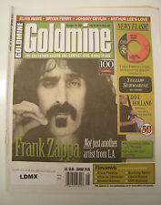 GOLDMINE MAGAZINE -  NOV 29, 2002 - FRANK ZAPPA, DAVE HOLLAND, BRYAN FERRY