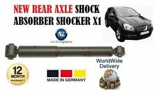 FOR NISSAN QASHQAI 1.6i 1.5DCi 2007--  NEW REAR AXLE SHOCK ABSORBER SHOCKER X1