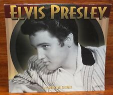 Landmark - Elvis Presley Black & White 12 Month 2001 Collectible Calendar *READ*