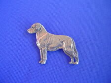 Labrador Retriever Pin Pewter 63A Working Dog Jewelry made by Cindy A. Conter