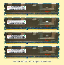 Server RAM 16GB 4x 4GB PC3-10600R ECC REG DDR3 1333MHz 1.5v 240-pin RDIMM Memory