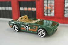 Hot Wheels Triumph TR6 - Green - Loose - 1:64