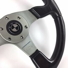 Genuine Momo Champion 350mm leather steering wheel. BMW E30 E21 E36 E24 E28 E31