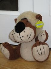 "DOG OR LION 9"" SOFT TOY BY BANANAS NEW WITH TAG"