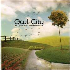FREE US SH (int'l sh=$0-$3) NEW CD Owl City: All Things Bright And Beautiful