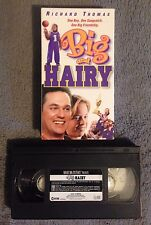 Big and Hairy (1998) - VHS Video Tape - Family / Sports - Robert Burke