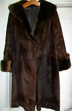 VINTAGE RUSSIAN PONY LINED FUR COAT