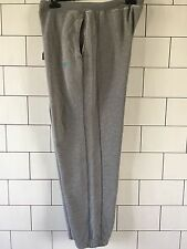 MENS GREY VINTAGE RETRO NIKE TRACKSUIT BOTTOMS JOGGERS SWEATPANTS SIZE MEDIUM