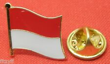 Monaco Country Flag Lapel Hat Cap Tie Pin Badge Principatu de Múnegu Principauté