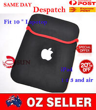 "New Laptop 10"" Tablet Sleeve Case Pouch ePad Bag For Apple iPad 2 3 4 mini Air"