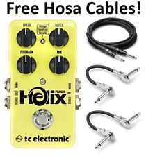 New TC Electronic Helix Phaser Guitar Effects Pedal! Hosa Cables!