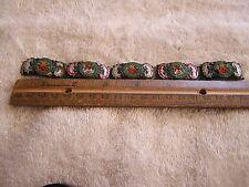 Antique Art Deco Micro Mosaic Bracelet