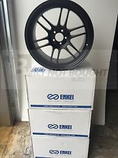 Enkei RPF1 18x9.5 5x114.3 15mm Offset | Black | 4 Wheels