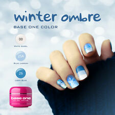 UV Gel Set Winter Ombre Silcare  3pc of 5g