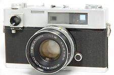 Konica Auto S 35mm Rangefinder Film Camera SN676154 w/Hexanon 47mm F/1.9 Lens