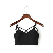 Fashion Women's  Casual Summer Tank Tops Vest Blouse Sleeveless Crop Tops Shirt