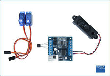 BLOCKsignalling LCS6 Level Crossing Module with Sound Servo Barriers & Lights