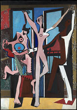 QUALITY CANVAS ART PRINT * PABLO PICASSO * The Three Dancers