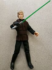 12 pouces star wars luke skywalker jedi avec sabre laser 1/6 scale figure loose
