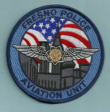 FRESNO CALIFORNIA POLICE HELICOPTER AIR UNIT PATCH