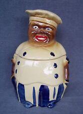 Vintage National Silver Company (NASCO) Chef Cookie Jar - Black Americana
