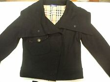 Women's  Burberry London Blue Label Black Jacket size 36
