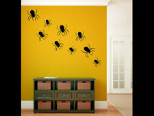 Spiders Vinyl Wall Decal Graphics Bedroom Living Room Home Decor Halloween