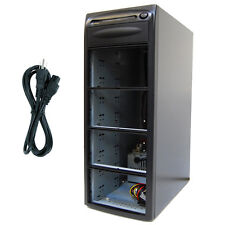 7 Burner (9 Bay) SATA CD DVD Duplicator Copier Enclosure Case Tower Replicator