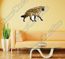 "Spotted Laughing Hyena Africa Animal Wall Sticker Room Interior Decor 25""X20"""