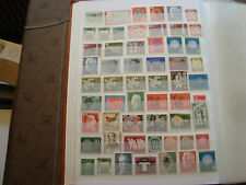 ALLEMAGNE (rfa) - 57 timbres nsg stamp germany