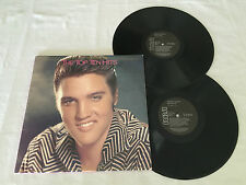 ELVIS PRESLEY THE TOP TEN HITS GATEFOLD NM 1987 AUSTRALIAN RELEASE DOUBLE LP