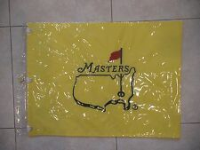 UNDATED MASTERS GOLF OFFICIAL PIN FLAG AUGUSTA NATIONAL VERY RARE PGA NEW