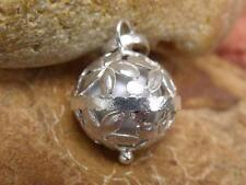 WHITE HARMONY/CHIME BALL/ANGEL CALLER HANDCRAFTED 925 SILVER PENDANT
