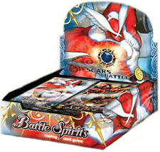 Battle Spirits TCG SCARS OF BATTLE Booster Box SEALED!!